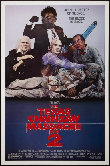 THE TEXAS CHAINSAW MASSACRE 2 - American Poster
